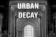 """Urban Decay / """"Urban and architectural decay often appeals to the imagination. While some consider the unfinished or collapsing parts of the city as ugly or disturbing, others feel they make an area more interesting than the picture perfect urban fabric."""" Mark Minkjan.  / by National Building Museum"""