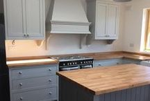 Kitchens / A selection of kitchens available from the Victorian Kitchen Company.