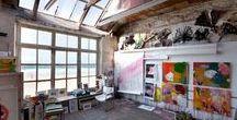 ARTIST STUDIOS / Inspiring Art Spaces