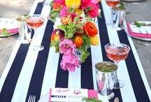 Parties / Party inspiration from www.paintedpreppy.blogspot.com  Designed by www.jbeedesigns.com