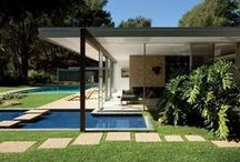 "Mid Century Modern home / We're living in a 1953 ""atomic ranch"" beauty, gotta start planning our renovation... For some great MCM furniture, see my board ""modern furnishing"" and ""modern lighting"" / by laura lyon"
