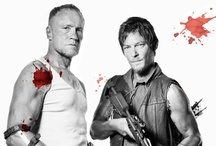 "The Brothers Dixon: Daryl & Merle / For any other TWD related pins see my other board ""AMC'S The Walking Dead"""