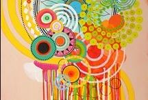 artsy fartsy for itsy bitsy (aka art inspiration for the nursery) / by laura lyon