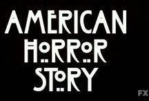 American Horror Story / Season 1: Murder House, Season 2: Asylum, and Season 3: Coven. / by Heather Sondreal