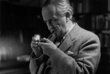 The Great J. R. R. Tolkien / ~For more Middle Earth pins check out my many other Middle Earth boards!~