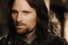 Aragorn: King of Gondor / For Boromir, Faramir, Bard, Eomer, Theoden, or other Men of Middle Earth see their individual boards.