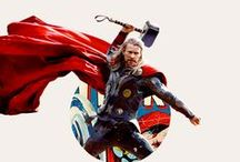 Thor: The God of Thunder / Strictly pins of Thor as portrayed by Chris Hemsworth. For any other Thor related pins or Avengers pins see their individual boards.