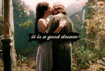 Aragorn & Arwen: Then It Is A Good Dream / Faramir x Eowyn also have their own board, as well as Arwen and Aragorn individually.
