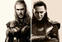 Thor & Loki: They Were Brothers / For any pins of Thor and Loki separately see their individual boards.