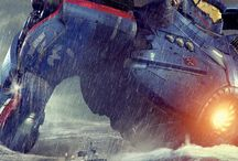 "Pacific Rim: Welcome To The Shatterdome / ""We are the only ones standing between that thing and a city of ten million people. So we can either sit here and wait, or we can grab those flares and do something really stupid."" - Herc Hansen"