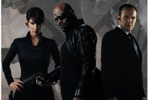 S.H.I.E.L.D. / S.H.I.E.L.D. agents from the Marvel movies with some from the show Agents of S.H.I.E.L.D.