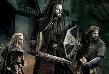 Durin's Folk: Thorin, Fili, & Kili / For Thorin, Fili, Kili, or any other Hobbit pins see their individual boards.