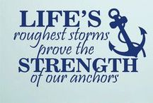 Anchors!!!!! / by Jeanine D'Errico