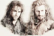 I Belong With My Brother: Fili & Kili / This board is strictly pins of Fili and Kili together. For separate pins of Fili and or Kili see my other two boards.