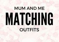 Mum & Me Matching Outfits / This is our inspiration for mum and mum's mini-me