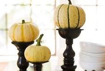 Put a gourd on it / Hey gourd looking! Take these tips on decorating and DIY'ing for T-Day.