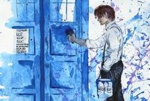 Tardis Painting / TARDIS, DOCTOR WHO