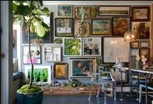 Dream Gallery Wall / furniture, style, home accessories, lighting, pillows, art, vintage, home interiors, linens, books, gifts. rugs, collections