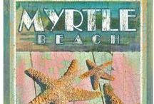 Myrtle Keepsakes / The entire Myrtle Beach, South Carolina area offers an abundance of convenient stores and specialty shops where you can purchase those Myrtle Beach keepsakes, and for those who have artistic talent we're sharing some crafty ideas!