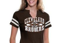 Cleveland Browns Shop / The official online NFL Shop is your trusted source for Cleveland Browns men's apparel, women's fan gear, and gear for youth and kids. Gear up with official Cleveland Browns jerseys, t-shirts, Browns hats, custom apparel and collectible merchandise. Going to the game? Be prepared with Browns jackets, sweatshirts, and tailgating supplies.