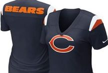 Chicago Bears Shop / The official online NFL Shop offers high quality Chicago Bears apparel and gear. We are the authority on Chicago Bears fan gear for women, apparel for men, and gear for youth and kids. Gear up on Sundays with official Chicago Bears jerseys, Bears hats, t-shirts, custom apparel and collectible merchandise. Before you head to Soldier Field, stock up on tailgating supplies, Bears jackets, sweatshirts, and car accessories.