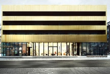 Facades / Exterior finishes and fenestration. / by Joseph Bauer