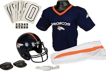 Halloween Costume Ideas! / Trick or Treat! Get your football Halloween gear now at NFLShop.com! Browse our large selection of kids' football uniforms (complete with helmet and jersey), girls' cheerleading outfits, player face masks, super hero capes, and tiara sets. Don't forget about getting your NFL pumpkin holders and carving kits, too!   Order now to get your NFL Halloween gear in time for trick or treating!