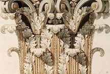 Decorology. Detail. Grisaille. Baroque. Ornamentum.  / by Cri