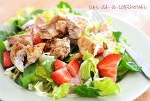 Salads.  / by Cristine