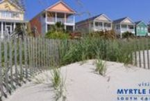 Beach House Life / Beach home rental options are truly innumerable here in the Myrtle Beach oceanfront. Beach homes have always been the popular choice for comfort, convenience and overall familial charm. Why not make yourself feel at home? / by MyMyrtleBeach