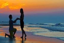 Romantic Myrtle Beach / Treat your someone special to a romantic beach vacation! Strolls on the seashore, sunset watching, attending shows and exploring attractions together will make for that perfect getaway.