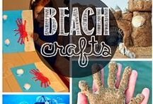 Beach Crafts and Creations / The beach inspires us to use our talents in creative ways!  Turn your beach memories into fabulous creations or create that masterpiece for entertaining your friends and family!  Let your imagination flow!  Here are some great ideas others have shared!