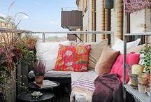 sunroom + balcony + porch