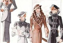 Clothes 1900-1930th