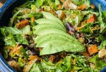 Salad Recipes / Vegan and plant-based salad recipes for all occasions. All recipes are meat-free, dairy-free and egg-free.