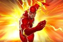 Flash Merchandise / This Flash board contains the best collection of licenced DC Comics Flash gear around!  Here you can anything from T-shirts to hoodies and watches!