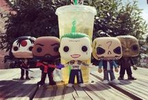 Funko POP + Figures / We have just about every Super Hero Funko POP!  / by SuperHeroStuff.com