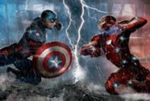 Captain America Civil War Merchandise / Captain America Civil War is here! This board will stay updated as new merchandise becomes available. Get all of your officially licenced Captain America: Civil War clothes: t shirts, hats, costumes, and sweatshirts right here! These items would make the perfect gift for him or gift for her! / by SuperHeroStuff.com