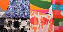 Jolis motifs / patterns / Imprimés en cascade.