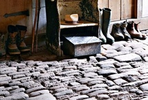 floors & rugs. / We walk on them every day.  Lets make them pretty.
