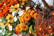 fall decor / by Kimberly Linhares