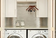 neutral laundry rooms.