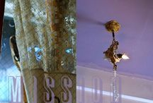 Apartment / Under & Above / Underfoot and overhead: rugs, chandeliers and other above/below elements