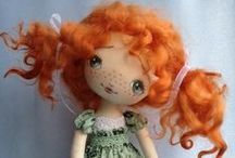 Cool cloth dolls / There is a look I like about cloth dolls. / by Raewyn Todd