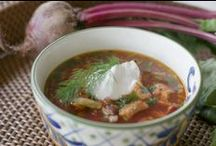 Food: Soups / Soups of all cuisines and flavors.