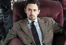 JJ Feild / JJ Feild is an extremely talented and beautiful British actor.  Currently starring as Major John Andre in AMC's TURN--his most noted films to date are Austenland (2013) and Northanger Abbey (2007).  See him also in Centurion, Third Star, and as James Montgomery Falsworth (Union Jack) in Captain America: The First Avenger.  Watch his films.  I promise, you won't be able to take your eyes off him.  And, the official fan campaign for JJ's own Union Jack Marvel Superhero movie has begun! / by Alesia