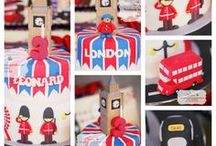 Paddington bear party - Aksel's birthday