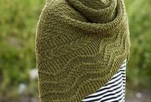 Knit-Purl-Knit - Throws & Wraps / knitting patterns for throws & wraps / by Lollie - Fortuitous Housewife