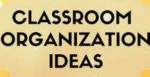 Classroom Organization Ideas / Classroom organization tips and tricks for K-2 bilingual/dual/Spanish immersion classes.
