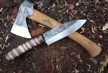 Knives/Blades/Tools/Bushcraft / by G Metin Ertugrul